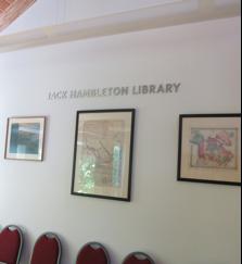 Hambleton_Library_sign
